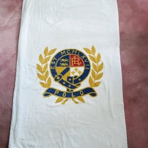 Oversize Vintage Luxurious Polo Beach Towel